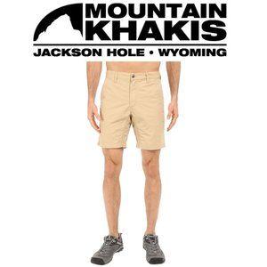 Mountain Khakis Poplin Shorts - 33W | Slim Fit